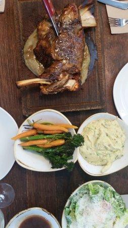 Rockdale, Australia: Roast Lamb and veg $95