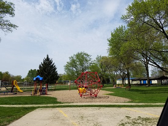 Mount Vernon, IA: playground area