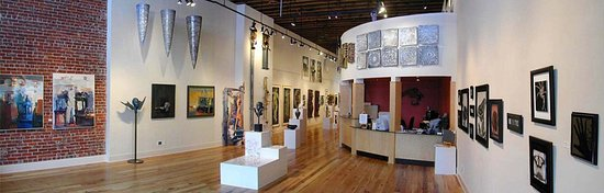 Coeur d'Alene, ID: Wide shot of the gallery