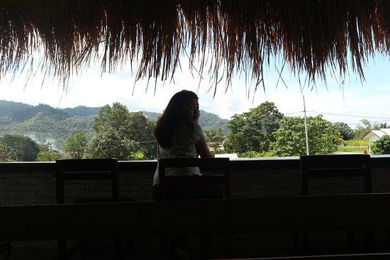 Moni, Indonesia: the view