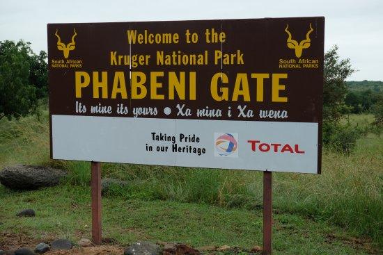 Hazyview, جنوب أفريقيا: Entrance to the park