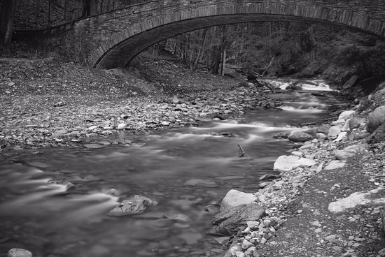 Moravia, Estado de Nueva York: Bridge crossing creek