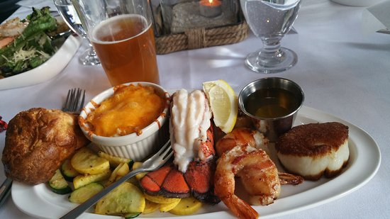 Boat Club Restaurant Seafood Trio For Those Of Us Who Can T Make Up