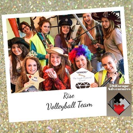 Post Falls, ID: Tourist~Volleyball Team Escape!