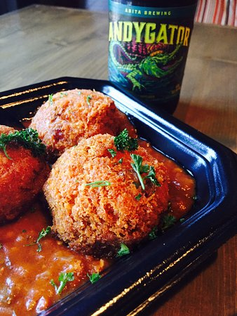 Spring Hill, TN: Fired Crawfish Boudin w/Creole Sauce