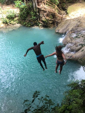 Liberty Tours Jamaica - Day Tours: The big jump at the end