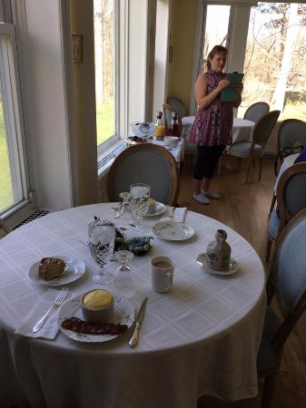 Fair Haven, VT: marble mansion breakfast