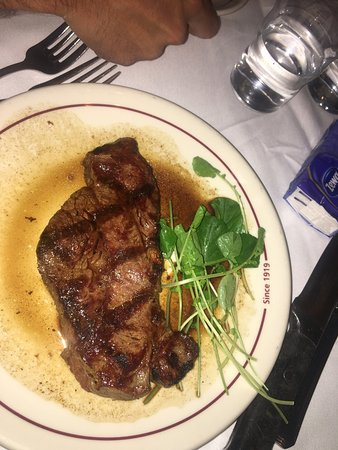 Musso & Frank Grill: New York steak