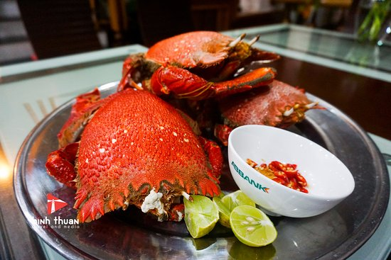 Фантхиет, Вьетнам: King crab, one of the best seafoods on the island