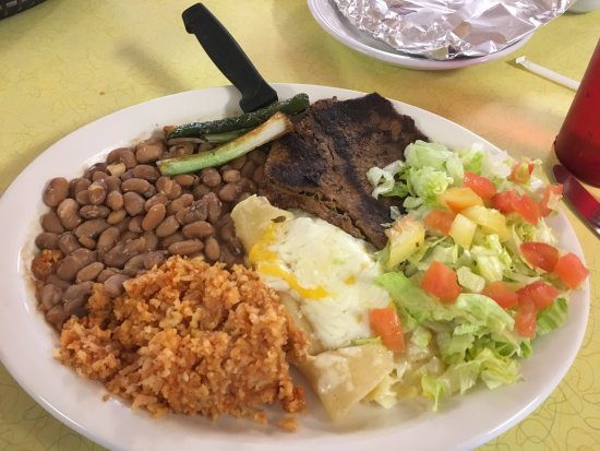 Gallup, NM: Mexican plate.