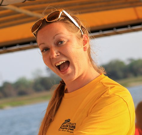 Captain Mike's Dolphin Tours: First Mate, Amanda!