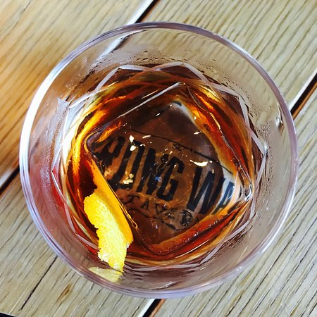 Strong Water Tavern: Rum Old Fashioned