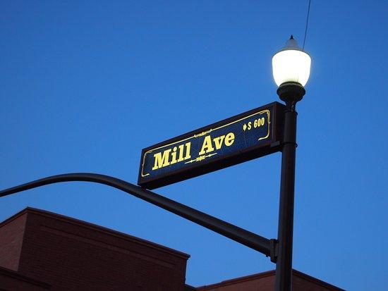 Tempe, AZ: street sign