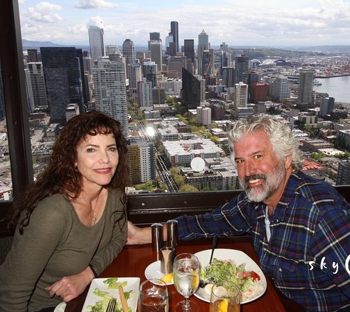 The Heathman Hotel Kirkland: Lunch at the top of the Sky Needle
