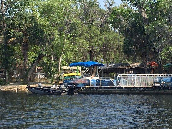 Chiefland, FL: Treasure Camp Dock