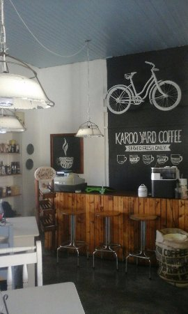 Victoria West, South Africa: Come and experience our NEW LOOK and COFFEE MENU. Our new extended FOOD MENU will be available s