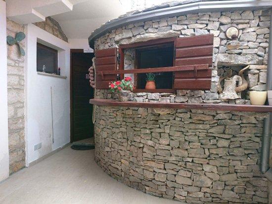Murter, كرواتيا: inside of restauran