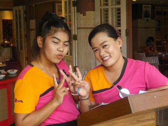 Patong Beach Hotel: Staff