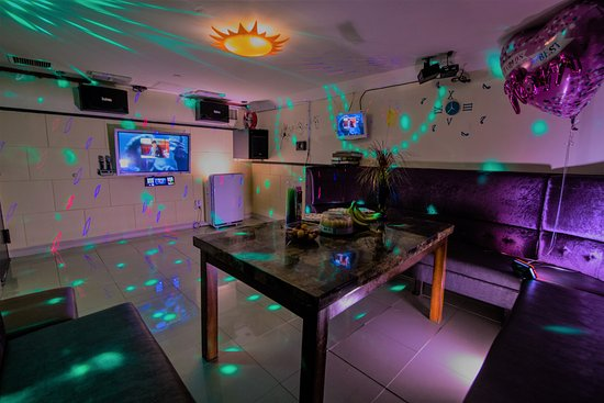 Flushing, NY: This private karaoke room routinely hosts up to 15 guests!