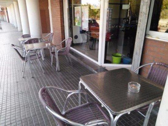 Rubi, Spanien: Terraza