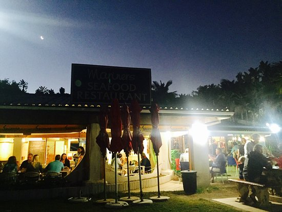 Marina Beach, جنوب أفريقيا: Mariners Restaurant