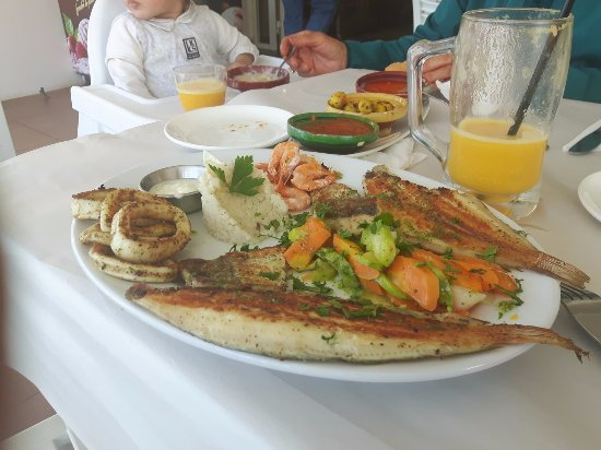 Temara, Morocco: assiette plancha