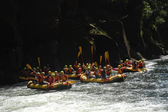 Okere Falls, New Zealand: Wairoa River Party