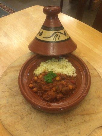 Пальмерстон-Норт, Новая Зеландия: Moroccon dish - Lamb Tagine