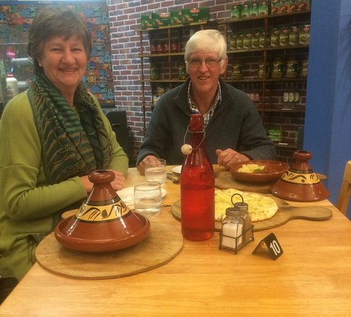 Palmerston North, New Zealand: Diners enjoying their meal