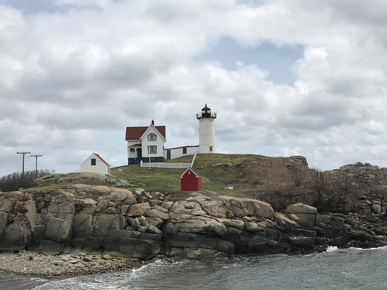 """Cape Neddick Nubble Lighthouse: """"The Nubble"""""""