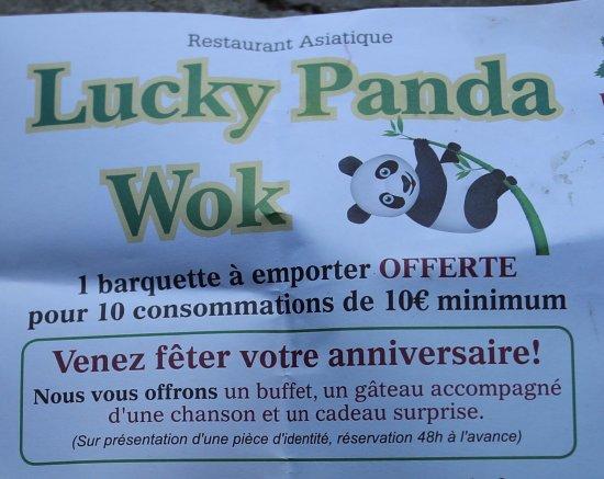 Lucky Panda: On peut fêter son anniversaire