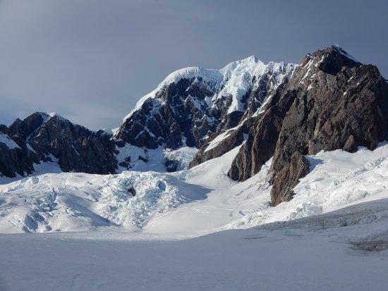 Franz Josef, Nueva Zelanda: Top of the glacier