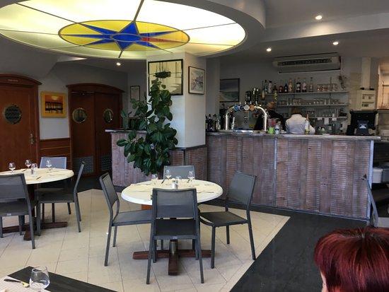 Salle interieur photo de la plage royan tripadvisor for Restaurant poisson salon de provence
