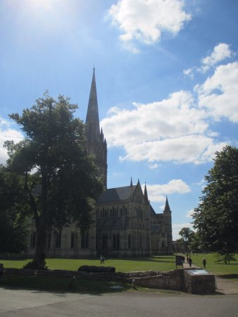 Salisbury Cathedral: vista esterna