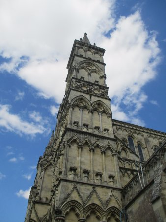 Salisbury Cathedral: torre della Cattedrale - the spire