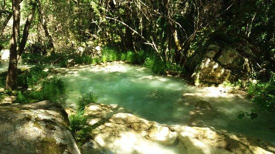 Messenia Region, Grecia: μια μικρή λίμνη