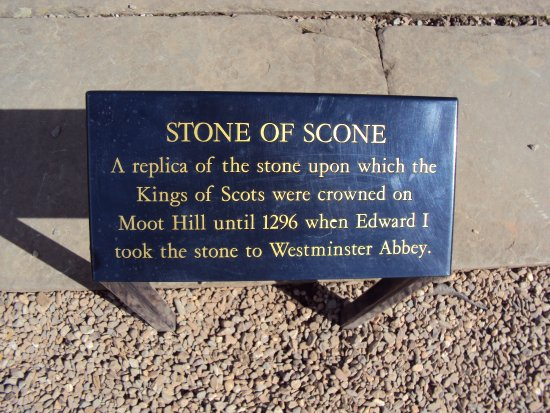 Perth, UK: the stone isn't there!