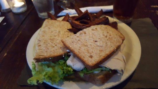 Smokin' Betty's: Cali turkey sandwich, mycket god!