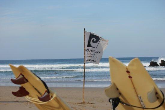 La Pared, España: Ihr findet uns am Strand...