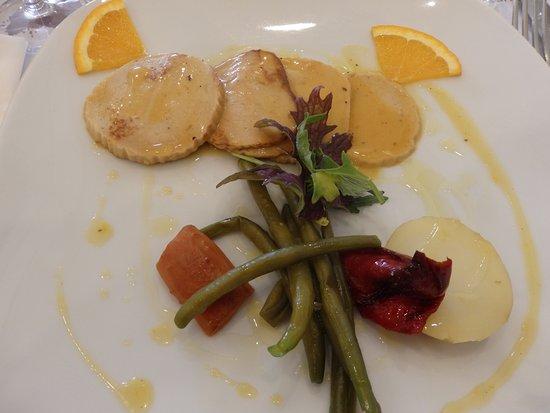 Amaranta, plato principal menú gastronómico