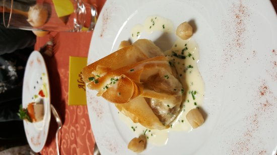 Restaurant le vol au vent dans chambray avec cuisine for Cuisine you chambray