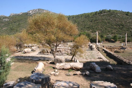Menderes, Turquía: The temple from the East