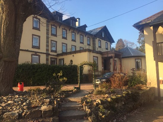 Le Grand Hotel de Munster : The hotel itself