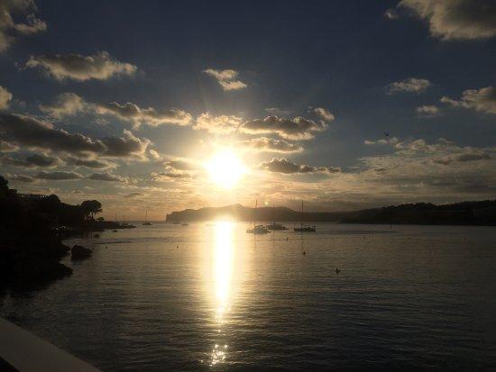 Kepulauan Balearic, Spanyol: Sunset in April