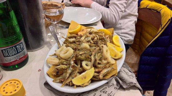 San Lorenzo Nuovo, Italien: frittura