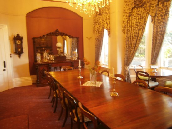 Deloraine, Australia: The original Arcoona Manor Dining room