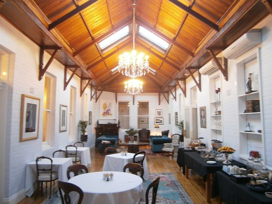 Deloraine, Australia: Breakfast room