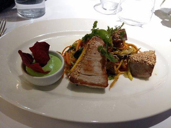 Нейдан, Франция: tataki thon wasabi