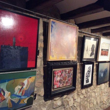 Castell-Platja d'Aro, Spain: Fons d'art