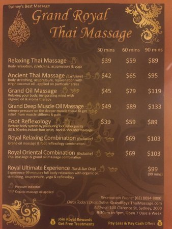 royal thai massage filmporr